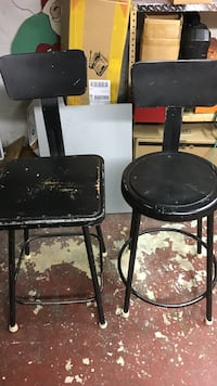 Two shop stools price is for both Beachwood, 08722