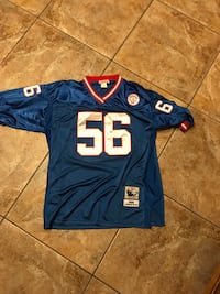 blue and white NFL jersey College Park, 30349