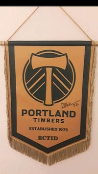 Portland timbers signed by R. Wallace #22