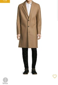 Brand-new, Vince camel overcoat Seattle