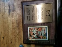 Dave Justice Rookie of the year Plaque Saint Paul, 55123
