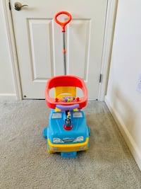 Micky mouse push car 3 in 1  Milpitas, 95035
