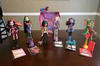 Monster High dolls Bristow, 20136