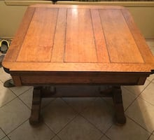 Tiger Eye Oak Table