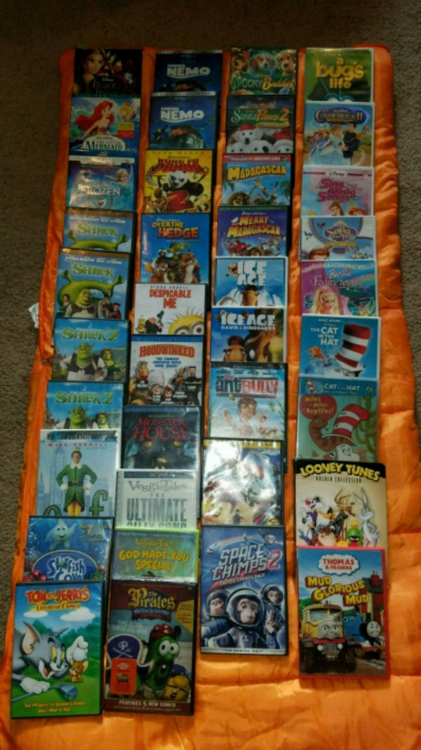 Used Childrens Classic Dvd Movies For Sale In Mckinney Letgo