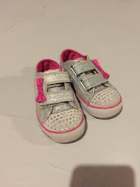 toddler's pair of gray Nike shoes Markham, L6E 1M3