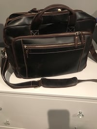 Leather briefcase  Brampton, L6S 3R9