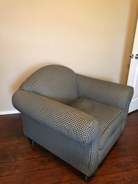 gray and white fabric sofa chair Durant, 74701