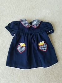 Baby girl dress 9 month size. Worn maybe once Macungie, 18062