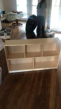 Brown wooden 3-layer shelf Concord