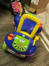 toddler's blue and yellow ride on toy Sterling Heights, 48310