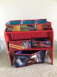 Paw Patrol kids toy organizer (as is)  Barrie
