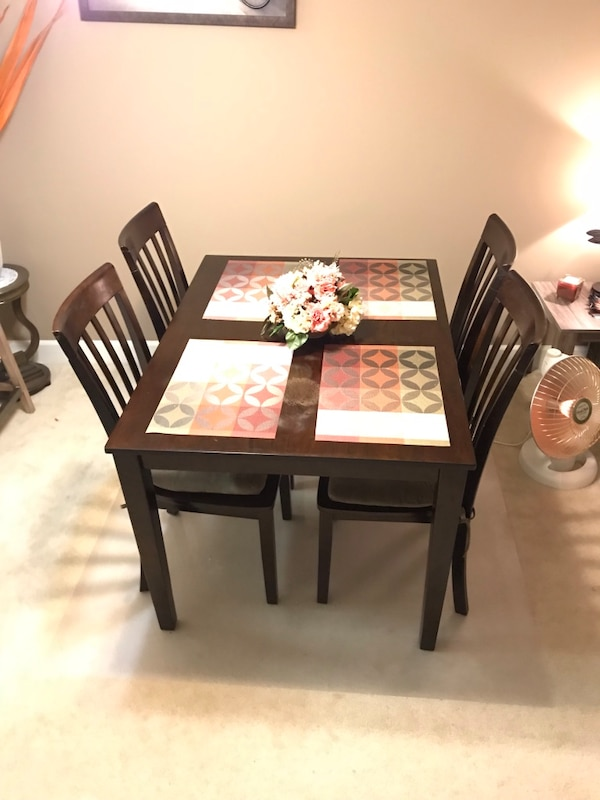 Ashley Furniture Dining Room Table & Chairs