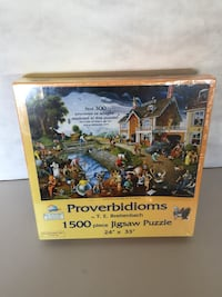 1500 piece puzzle New London, N6B