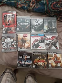 assorted PS3 games British Columbia, V2V 6R7