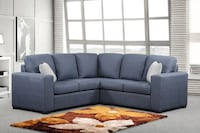 Brand new in box fabric sectional sofa Mississauga
