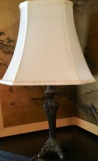 Vintage looking cheyenne table lamp with shade