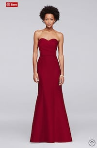 women's red sleeveless dress Ellicott City, 21042