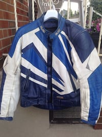 Leather Motorcycle jacket HJC Toronto, M3M 2C6