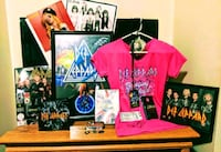 Def Leppard Collectable Memorabilia Middletown, 45044