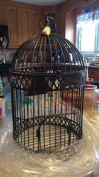 Black metal wire Bird Cage 18 inches in Height 531 km