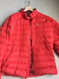 Arcteryx down jacket