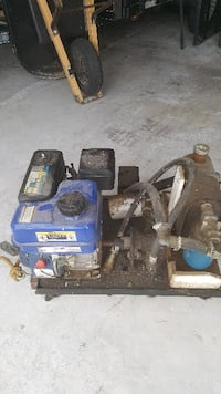 Portable Gas Motor Powered Hydraulic Unit Harpers Ferry