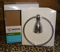 FIRM PRICE * NEW in Box MOEN Caldwell Chrome Towel Ring Oklahoma City, 73012