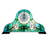 Lighted Tiffany Style Mantle Clock /NEW Richmond Hill, L4C 3T9