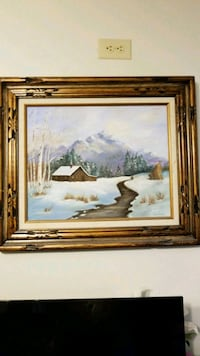 """Oil Painting Landscape ( local artist)-- 27""""by 23"""" Indianapolis, 46268"""