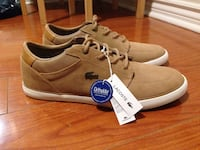 Brand New Lacoste Sneakers - Suede leather Toronto, M4L 3R6
