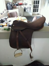 Saddle made by Barclay an company Surrey, V3W 6C5