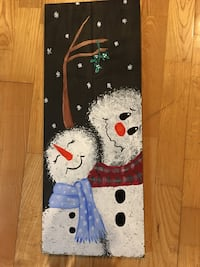 Hand painted Wooden Christmas decorations Port Moody, V3H 4V7