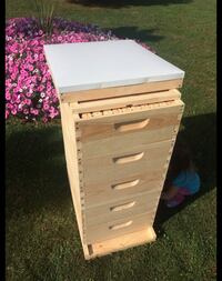 5 Medium ( 6 5/8 ) w/ Frames Bee Hive ( Assembled ) Mount Vernon, 43050