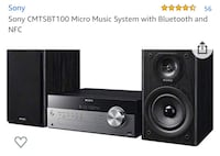Sony micro mini system new in box CMTSBT100 Toronto, M3A 1A3