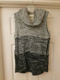 Cowl neck Sleevless sweater 552 km
