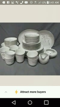 white ceramic dinnerware set screenshot Port Orchard, 98367