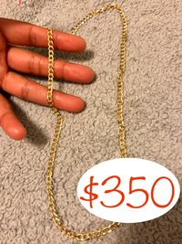 Cuban gold necklace  New Carrollton, 20784