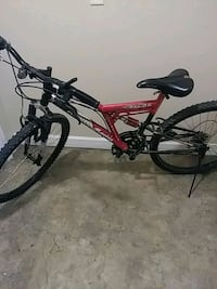 red and black full-suspension bike Des Moines, 50310