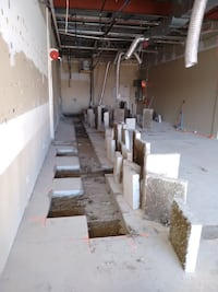 Concrete Contracting: Slab sawing and removal