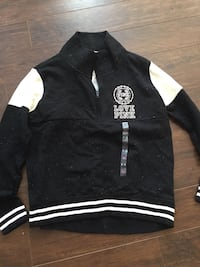black and white zip-up jacket Innisfil, L9S 2K7