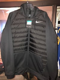 Nike Men's Nike Therma Full-Zip Training Hoodie - New w Tags - Size XL