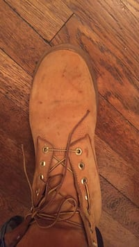unpaired brown boot