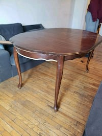 round brown wooden  table Toronto, M5R 2R6