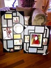 2 multi array photo frames from Umbra Loft. New in boxes, never used   Newfoundland, 07435