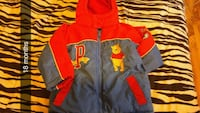 red and black zip-up hoodie Moncton, E1C 6P3