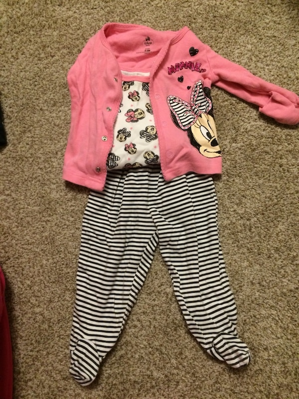 98cd3c265f Used Disney 6-9 months 3 piece outfit for sale in Oshawa - letgo