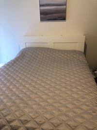 Pillowtop Queen Mattress & Bed Frame  Toronto, M6E 2S2