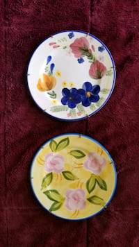 Hand painted plates  Victorville, 92831