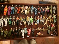 assorted action figures in box Pointe-Claire, H9R 0A2